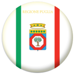 Apulia Flag 58mm Button Badge